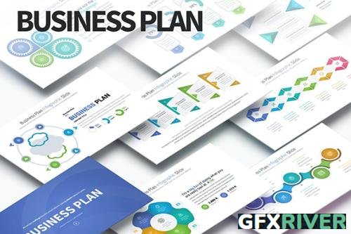 Business Plan - PowerPoint Infographics Slides by [pulsecolor]