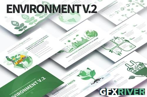 Environment V.2 - PowerPoint Infographics Slides by pulsecolor