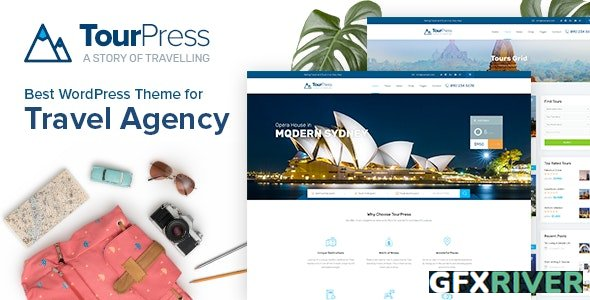 TourPress v1.1.8 - Travel Booking WordPress Theme - 22395330