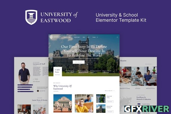 Eastwood v1.0.0 - University & School Elementor Template Kit - 29797945
