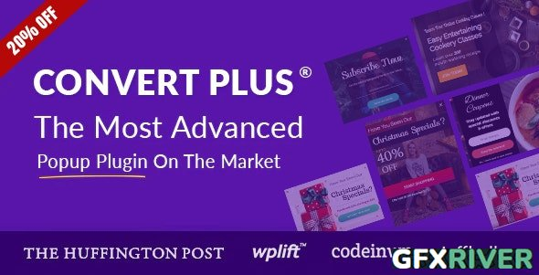 CodeCanyon - Popup Plugin For WordPress - ConvertPlus v3.5.16 - 14058953 - NULLED