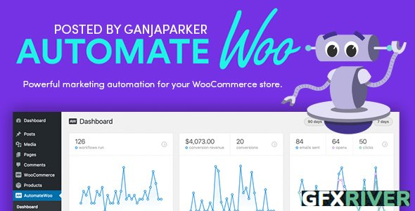 AutomateWoo v5.2.1 - Marketing Automation For WooCommerce Store + AutomateWoo Add-Ons - NULLED