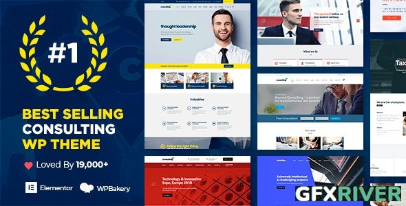 ThemeForest - Consulting v5.2.3 - Business, Finance WordPress Theme - 14740561 - NULLED