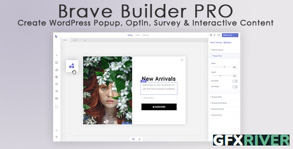 Brave Builder Pro v0.3.3 - WordPress Popup Optin Survey Interactive Content - NULLED