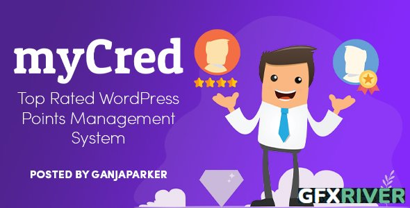 myCred v2.0.1 - Points, Rewards, Gamification, Ranks, Badges & Loyalty WordPress Plugin + myCred Add-Ons