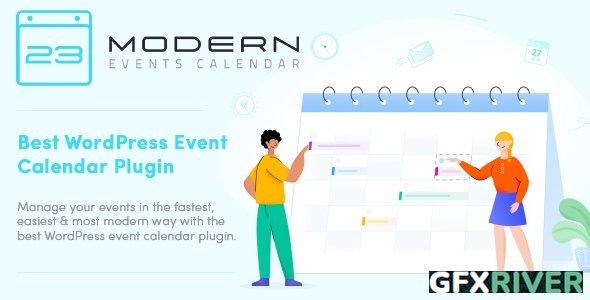 Webnus - Modern Events Calendar Pro v5.16.1 - Responsive Event Scheduler & Booking For WordPress + Add-Ons