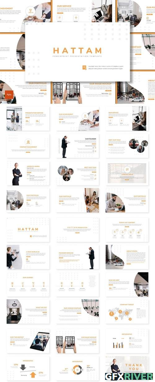 Hattam - Business Powerpoint, Keynote and Google Slides Template