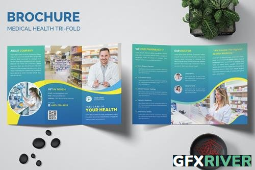 Medical Trifold Brochure Templates