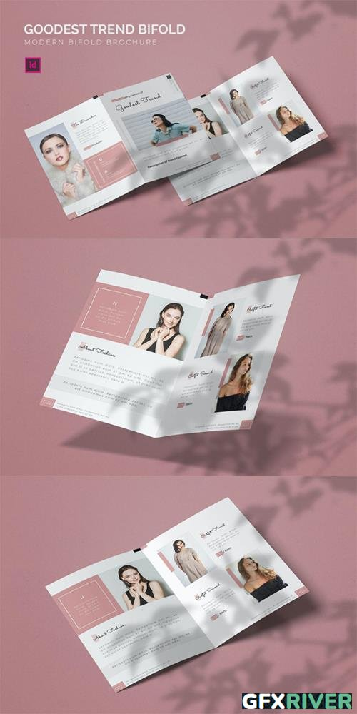 Goodest Trend - Bifold Brochure