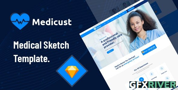 ThemeForest - Medicust - Health and Medical Sketch Template - 28511624