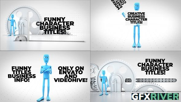 Videohive - Funny Character Titles Bundle - 29418477
