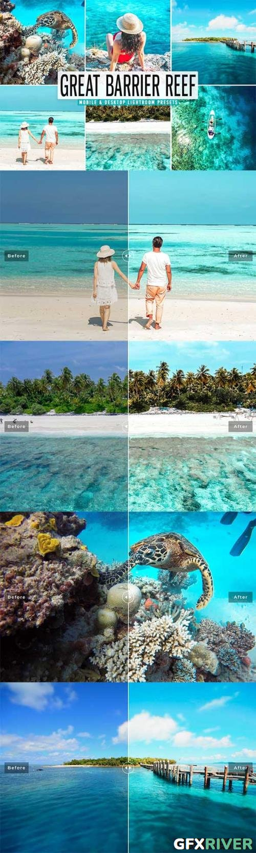 Great Barrier Reef Pro Lightroom Presets