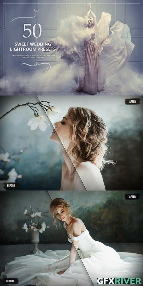 50 Sweet Wedding Lightroom Presets 5784214
