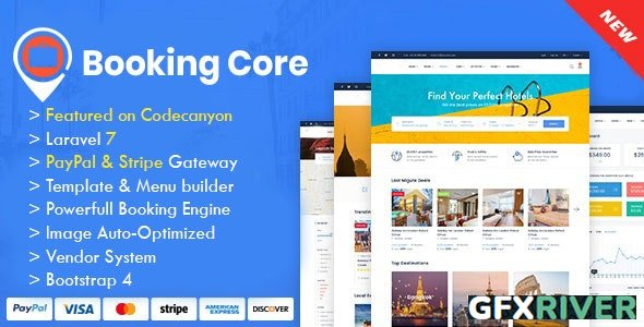 CodeCanyon - Booking Core v1.9.1 - Ultimate Booking System - 24043972