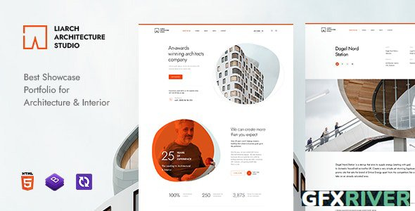 ThemeForest - Liarch v1.0 - Architecture & Interior HTML Template - 30325598