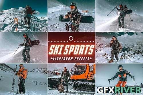 ski Sports Winter Lightroom Presets