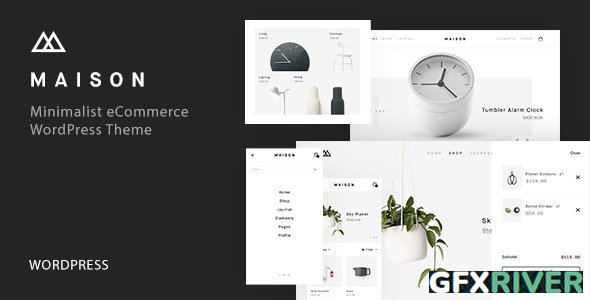ThemeForest - Maison v1.24 - Minimalist eCommerce WordPress Theme - 20357536